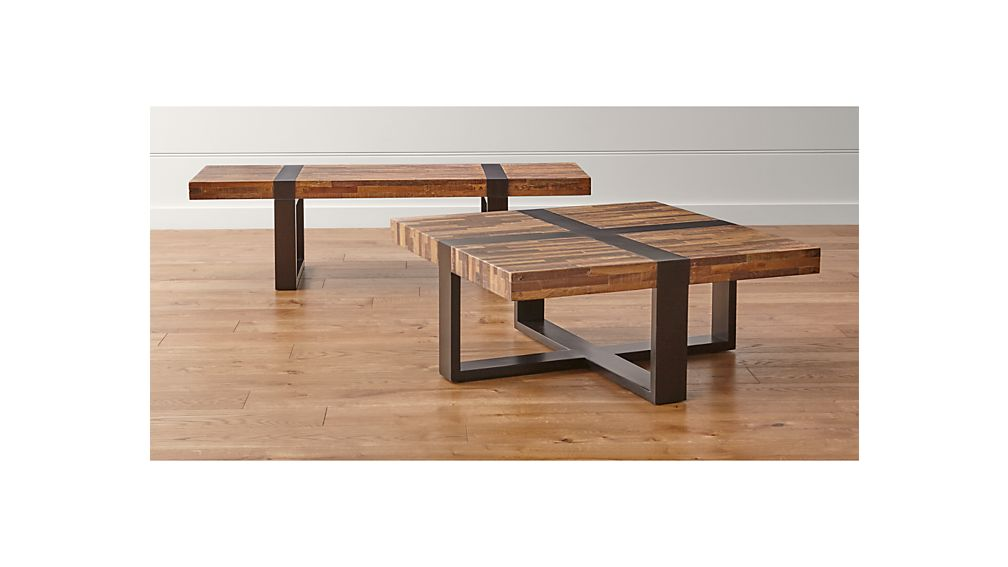Seguro Rectangular Coffee Table Crate And Barrel