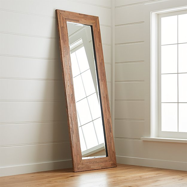 Seguro Floor Mirror Crate And Barrel