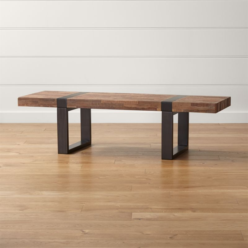 Seguro Rectangular Coffee Table Reviews Crate and Barrel
