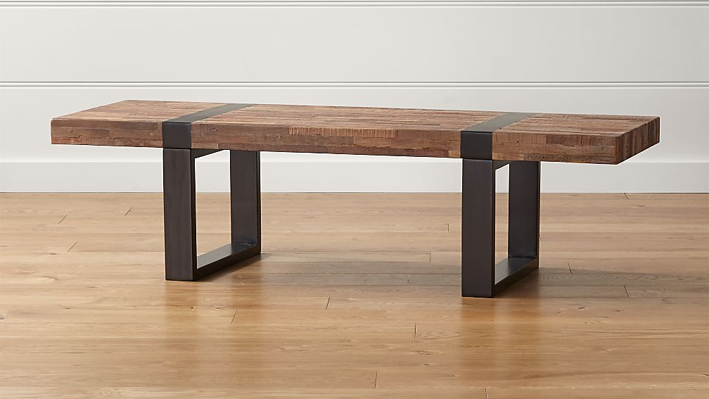 rectangle wood coffee table Seguro Rectangular Coffee Table + Reviews | Crate and Barrel rectangle wood coffee table