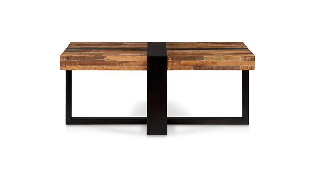 Seguro Square Coffee Table Crate and Barrel