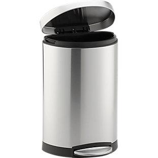 Simplehuman 174 Grey 40 Liter 10 5 Gallon Slim Trash Can