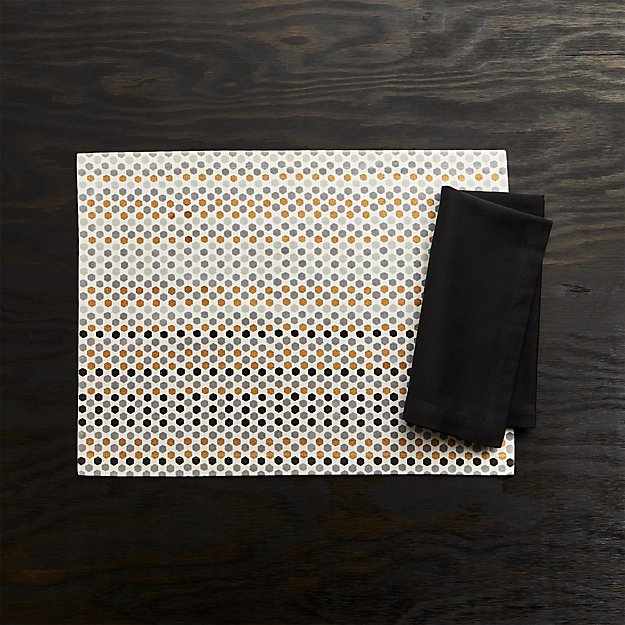 Sequin Placemat In Placemats Reviews Crate And Barrel