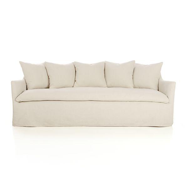 Serene Slipcovered Sofa