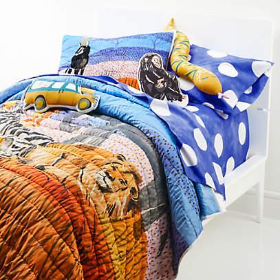 Serengeti Organic Full Queen Quilt, Crate And Barrel Bedding Reviews