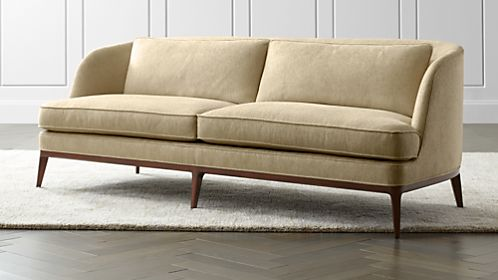 Seyces Wood Trim Sofa