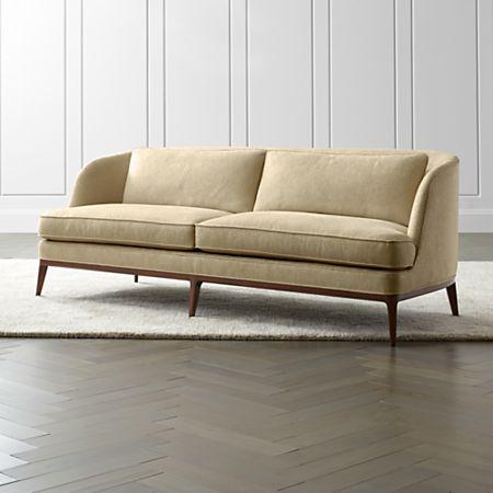 Pleasing Seychelles Wood Trim Sofa Ncnpc Chair Design For Home Ncnpcorg