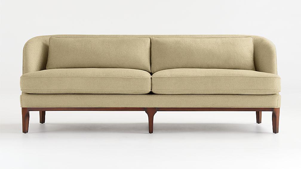 Seychelles Wood Trim Sofa - Image 1 of 10