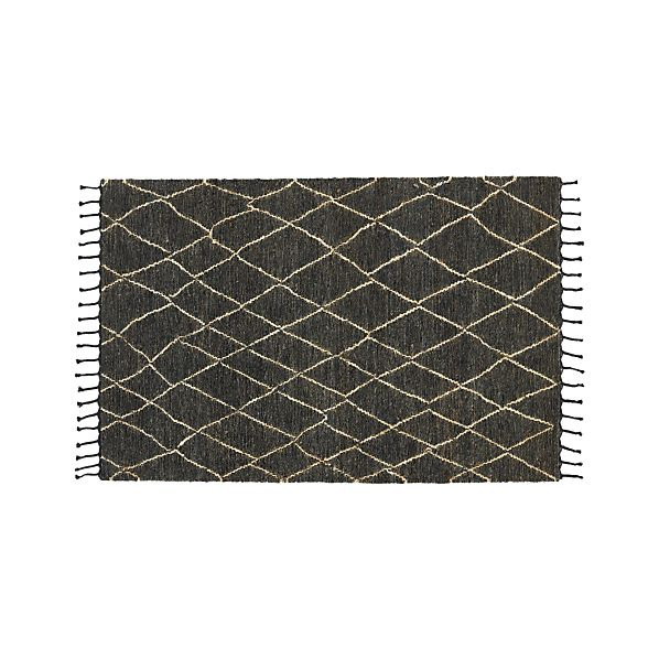 Shaba Black 5'x8' Rug