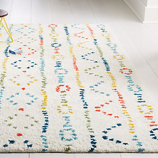 Graphic Wool Rug