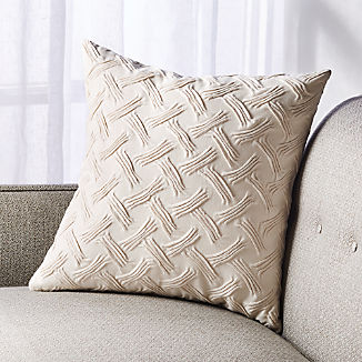 """Shay Textured Pillow 18"""""""
