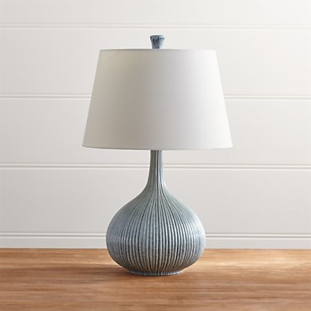Shaye Blue Table Lamp Reviews Crate