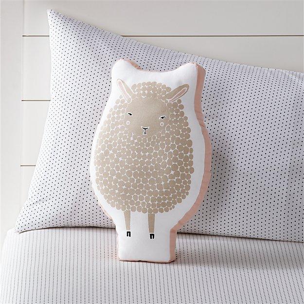 White Sheep Pillow