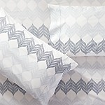 Sheesha Leaf Standard Pillow Cases, Set of 2