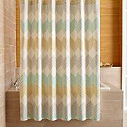Sheesha Leaf Shower Curtain