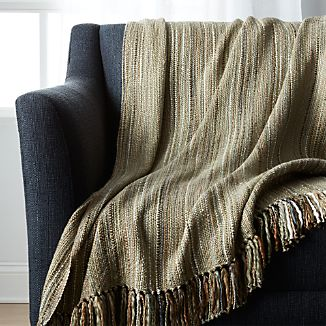 Shelby Laurel Green Throw