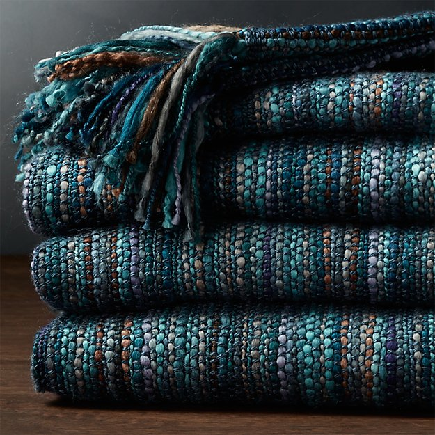 Shelby Blue Throw