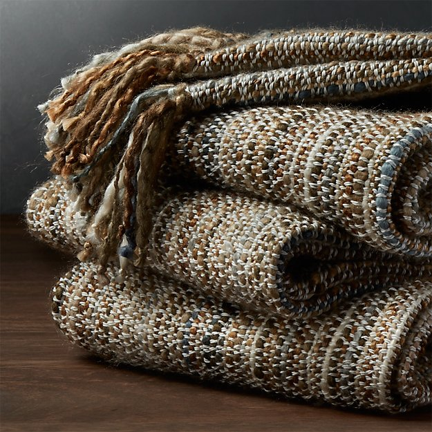 Shelby Brown Throw Blanket Reviews Crate And Barrel
