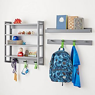 Beaumont Grey Shelving Collection Kids
