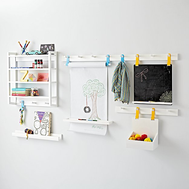 Beaumont White Shelving Collection Crate And Barrel