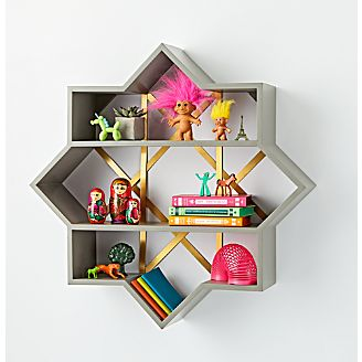 Genevieve Gorder Star Wall Shelf Kids