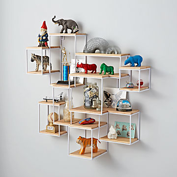 Swell Kids Shelves Wall Cubbies Crate And Barrel Download Free Architecture Designs Lukepmadebymaigaardcom