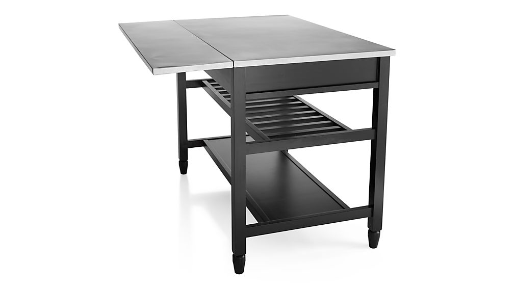 Sheridan Black Kitchen Island