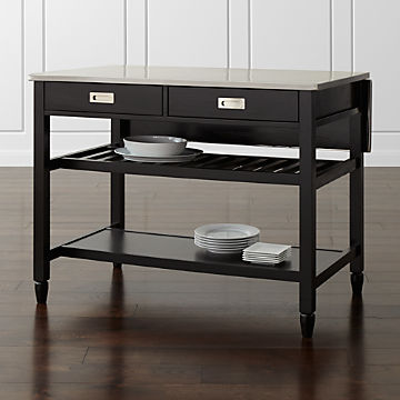 Marvelous Shop Stylish Kitchen Islands Carts Crate And Barrel Download Free Architecture Designs Scobabritishbridgeorg