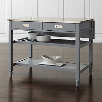 Rolling Kitchen Islands Crate And Barrel - Crate and barrel kitchen island