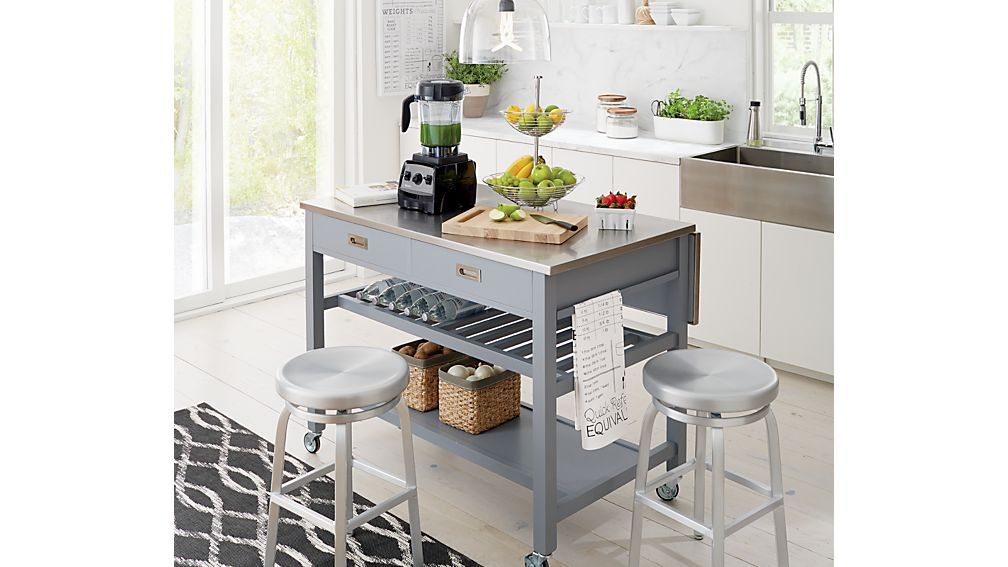Spin Swivel Backless Counter Stool