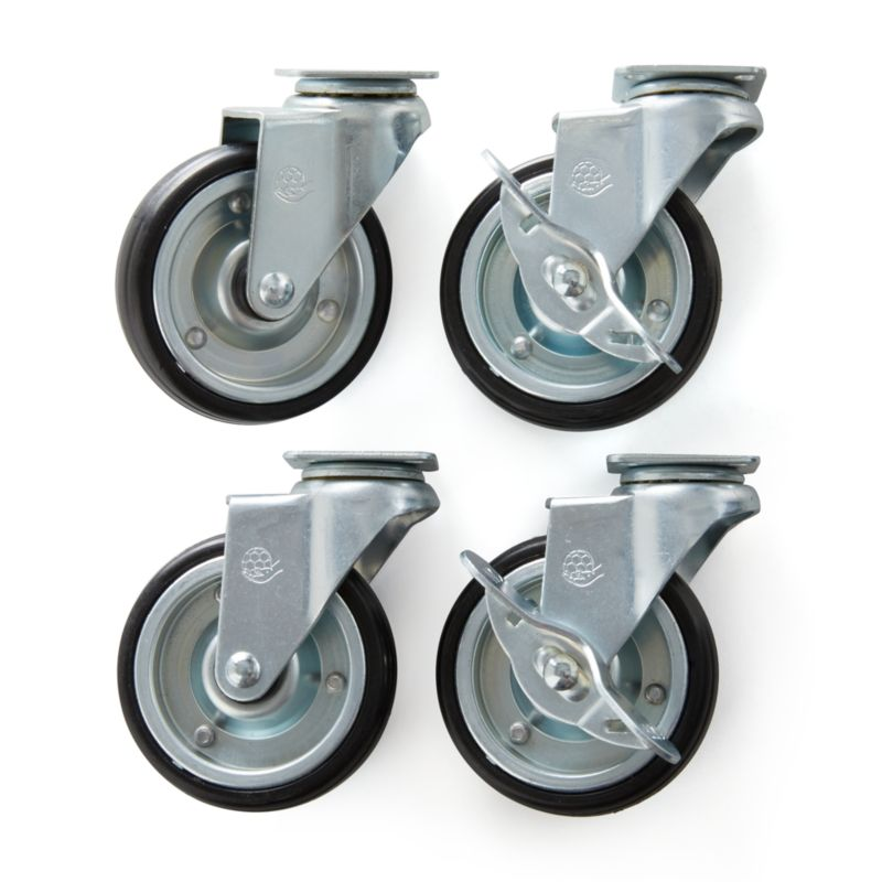 Awesome Set Of 4 Casters For Sheridan Kitchen Island