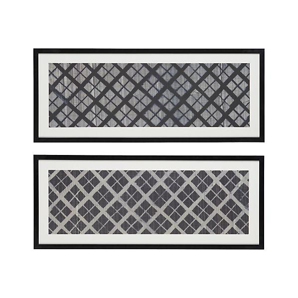 Set of 2 Shibori Prints