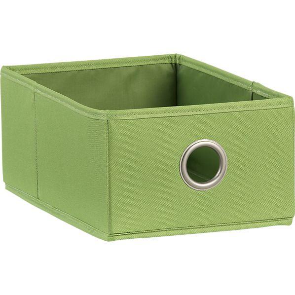 Green Shoe Bag Drawer