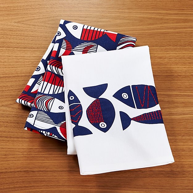 Shore Dish Towels Set of Two