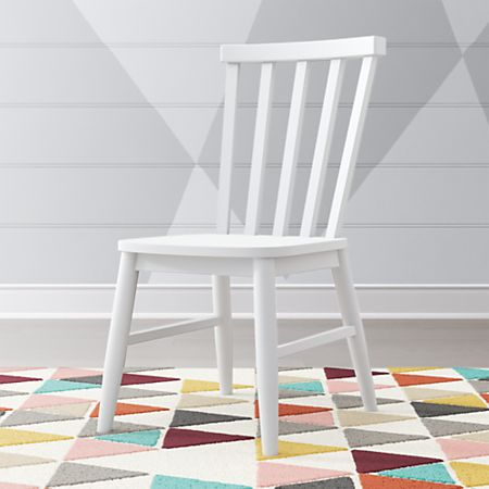 Enjoyable Kids Shore White Desk Chair Gmtry Best Dining Table And Chair Ideas Images Gmtryco