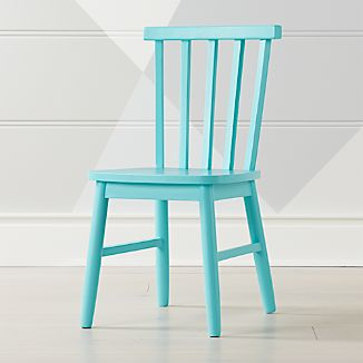 Shore Light Blue Kids Chair