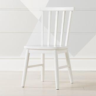 Shore White Kids Chair