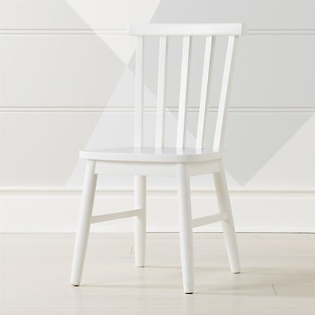 Pleasing Shore White Kids Chair Reviews Crate And Barrel Gmtry Best Dining Table And Chair Ideas Images Gmtryco