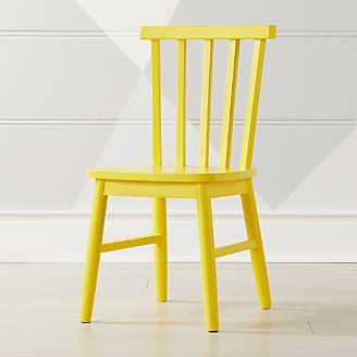 Shore Yellow Kids Chair
