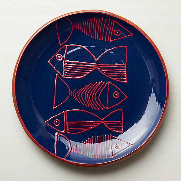 Shore Round Platter