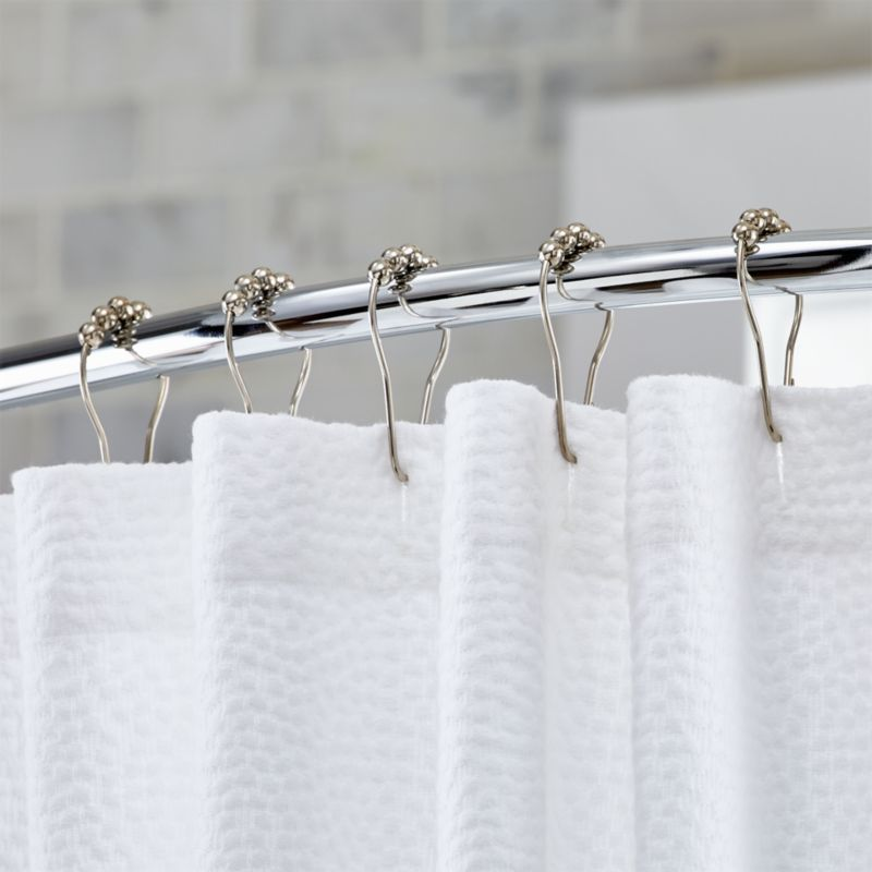 Shower Curtains, Rings and Liners | Crate and Barrel