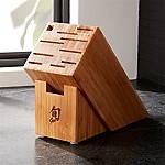 Shun ® 11-Slot Bamboo Knife Block