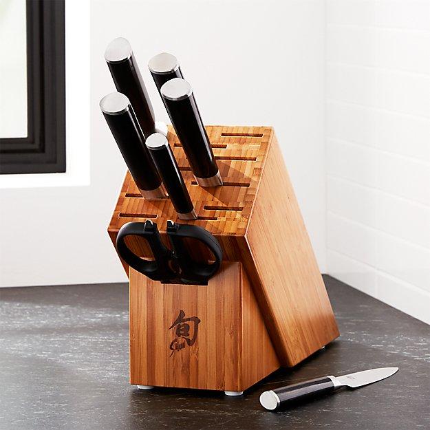 Shun ® Classic 8-Piece Knife Set - Image 1 of 5