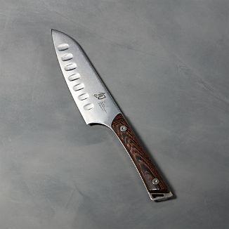 "Shun ® Kanso 5.5"" Hollow-Ground Santoku Knife"