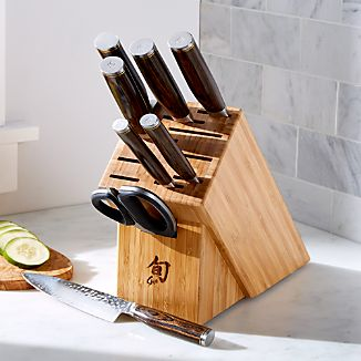 Shun ® Premier 9-Piece Knife Block Set