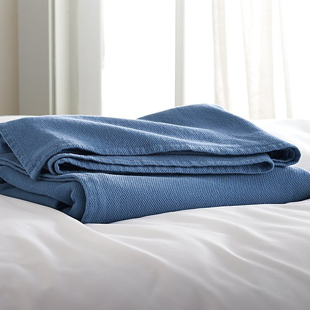 Siesta Blue Full/Queen Blanket