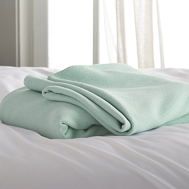 Siesta Seafoam Full/Queen Blanket