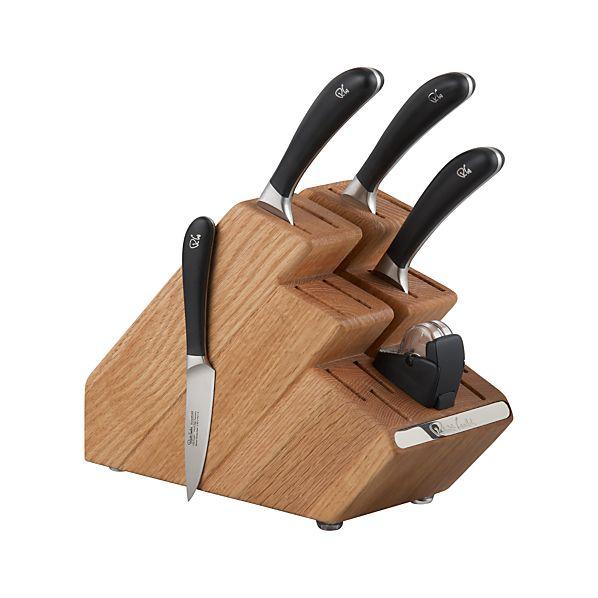 Robert Welch ® Signature 6-Piece Knife Block Set