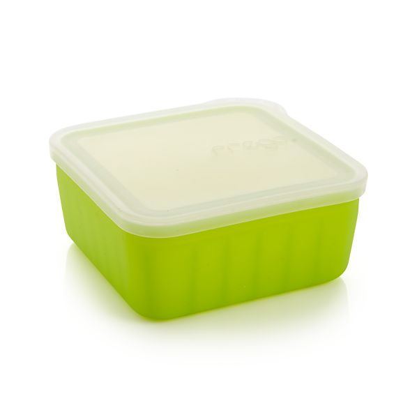 Green Silicone Container