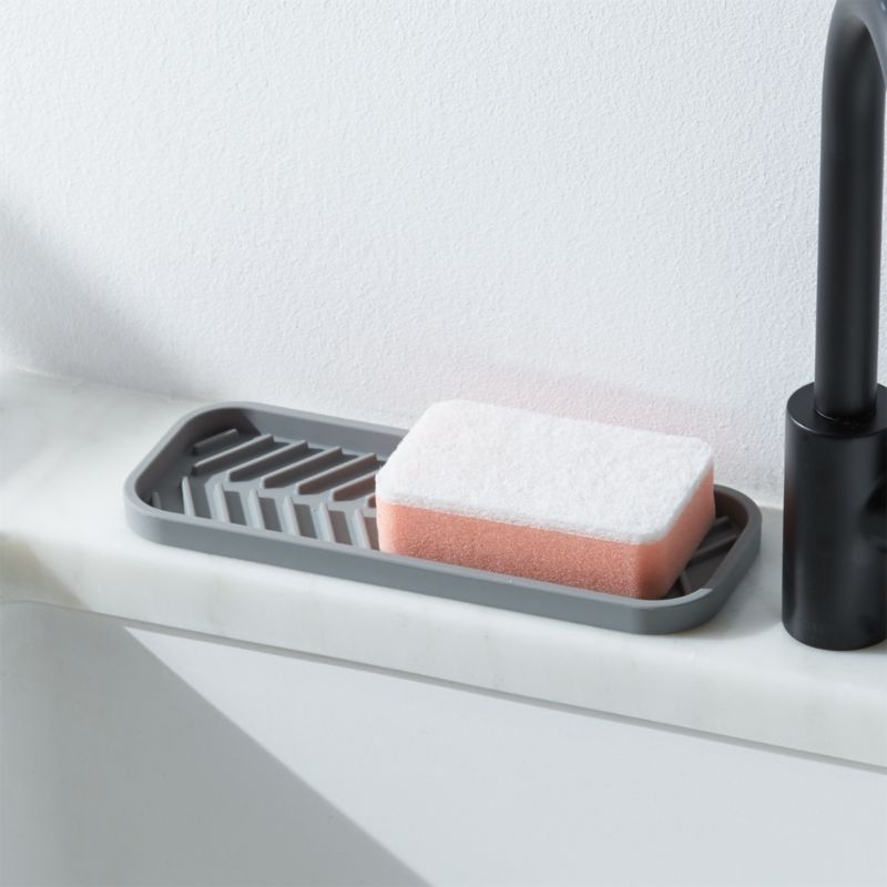 Interdesign Silicone Sink Tray Reviews Crate And Barrel